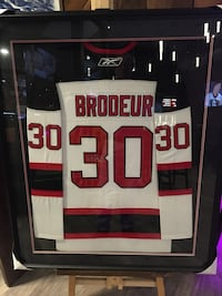 Martin Brodeur signed jersey with COA