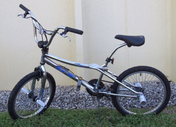 Used Vintage 1998 BMX GT Performer Freestyle Chromoly 4130 Bicycle ...