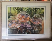 Limited edition signed watercolor, stunning! Silver Spring, 20904