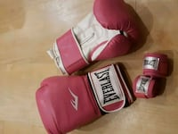 New Everlast boxing gloves and wraps Burlington, L7M 4T2