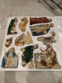 Christmas nativity set new