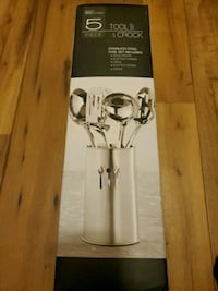5 piece stainless steel set