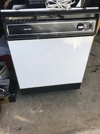 white and black Whirlpool dishwasher Tucson, 85730