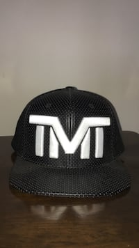 black TMT fitted cap