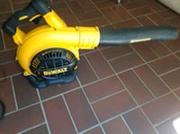 yellow and black leaf blower Hoover