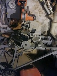gray, orange, and black miter saw Baltimore, 21229