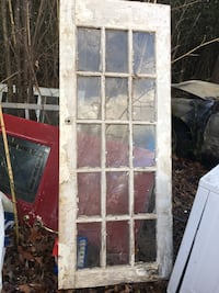 Vintage 15 Window Door. Good Condition