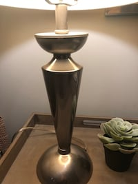 Stainless table lamp  Webster Groves, 63119