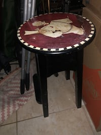 Stool with chef design on top   Pompano Beach, 33060