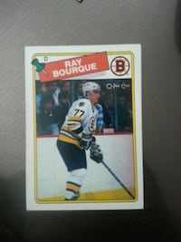 Boston Bruins Ray Bourque trading card