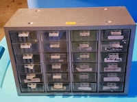 Small storage drawers for screws nails - tools  Manchester, 03103