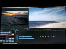 Sports action video editing