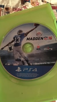 Madden NFL 16 Xbox 360 game disc Independence, 70443