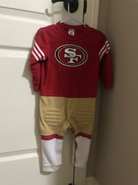 Red and white san francisco 49ers jersey El Paso, 79938