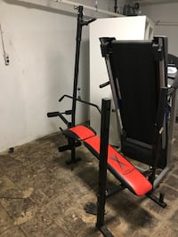 Starter bench w/bar & weights Cincinnati, 45219