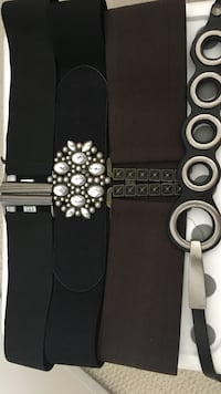 Like new fashionable belts Mississauga, L5B