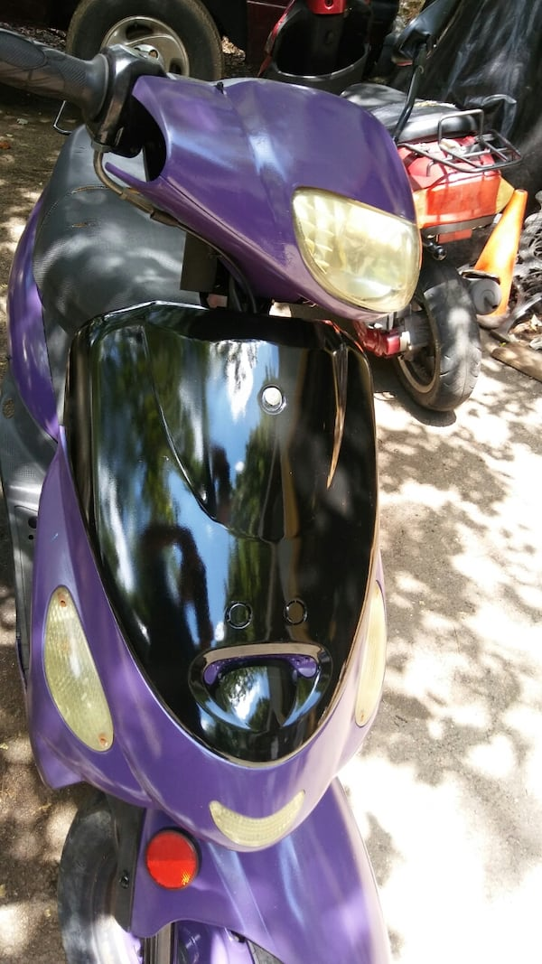 50cc Motor Scooter Purple Fast S'ooter. Just Refurbished!! Runs Great! d91d9296-be6a-450e-86d8-ac4071458f03