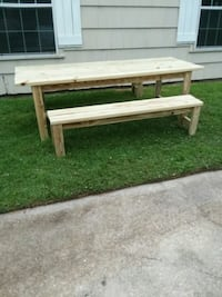 Picnic Table and Benches  1130 mi