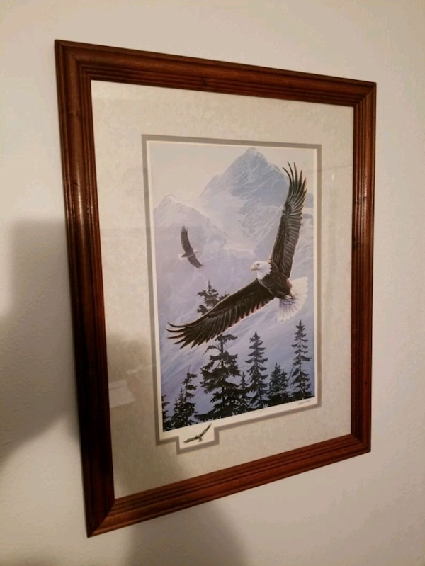 "21""-17"" beautiful Eagle print 43f79b03-51b2-4a0f-934d-228f5968ec6f"