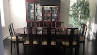 brown wooden dining table set Windermere, 34786