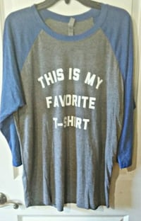 women's xl boutique baseball tee  Morristown