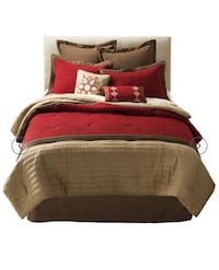 Check This Out! New Kingston Queen Matelasse 8 Piece Comforter Set Carrollton, 75007
