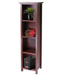 Winsome  Milan Storage Shelf or Bookcase 5-Tier, Tall