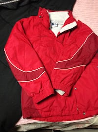 Red Women's Columbia 3 in 1 Coat Size Small West Chicago