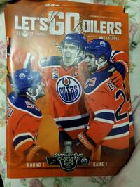 Edmonton Oilers Playoff game program round 1 game1 Edmonton, T5Y 6A8