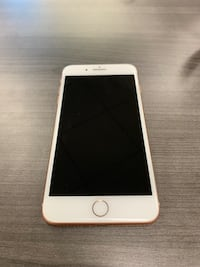 iPhone 8 Plus unlocked Gold 64gb Only one year old  Great condition