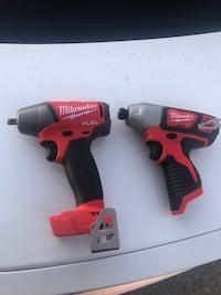 Milwaukee impact drills  San Jacinto, 92582