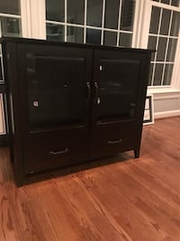 Media center. 40x16x35.  Ordered it online and used for several years but still has some life left. A few scratches and drawers aren't perfect. P/u Alexandria   Alexandria, 22307