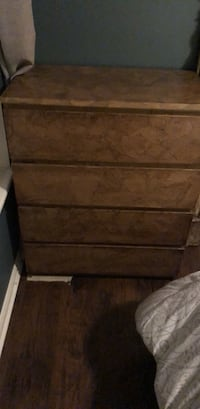 Ikea Malm 4 drawer Dresser(Custom) Falls Church, 22046