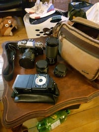 Minolta XGM + lenses + flash + bag Ottawa, K1S 2P3