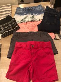 Girls lot. Shorts, jeans leggings Corpus Christi, 78412