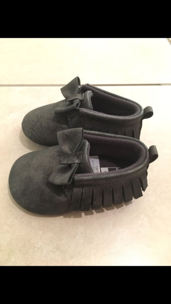 Carter's baby moccasins 2