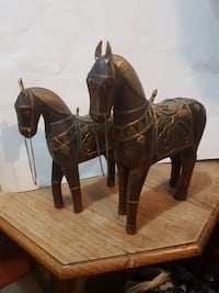Original wood carvings with brass Surrey, V3S 2G9