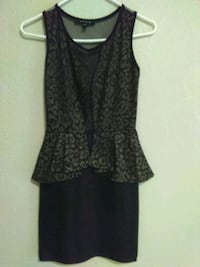 Snap made in usa gold and black dress Houston, 77013