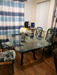Dining table and chairs  New Westminster, V3M 1M4