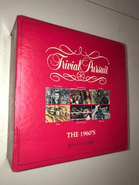 Trivial Pursuit 1960's Master Game: Board Game  Oklahoma City, 73159