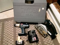 black and gray cordless power drill Virginia Beach, 23453