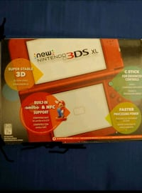 New Nintendo 3DS XL (Red) Includes Charger + Case Mississauga, L4Z 1H1
