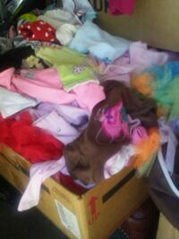 5 Big Boxes Overflowing with Baby girl clothes Roy, 84067