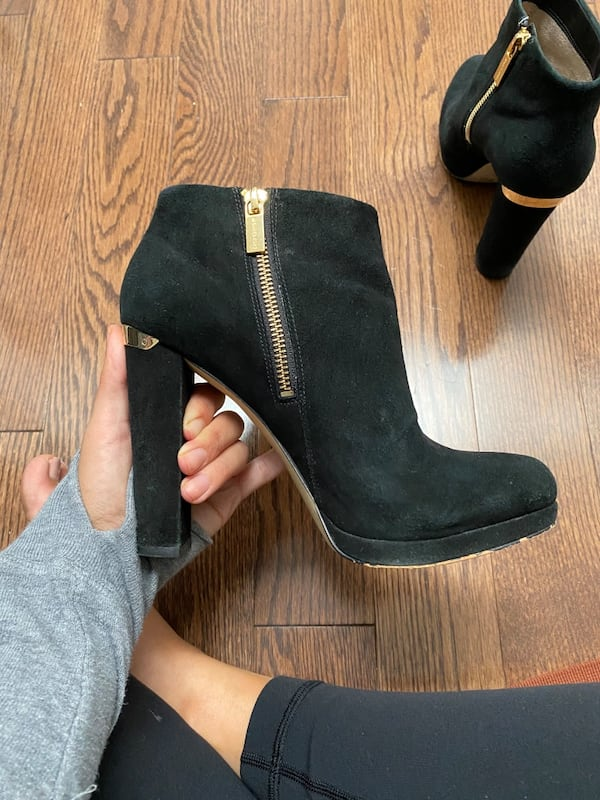 Michael Kors Suede Booties  7d680bf8-fa0b-4c3c-b5cb-abd1acaa3a24