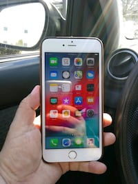Iphone 6 plus unlocked 64gb gold color Falls Church, 22042