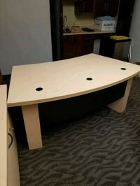 white and brown wooden table Terrebonne, J6W 1Y5