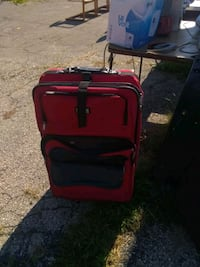 red and black luggage bag Dayton, 45417