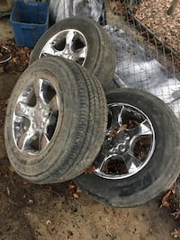 3 roush wheels and tires from roush f150