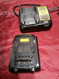 Dewalt Battery And Battery Charger