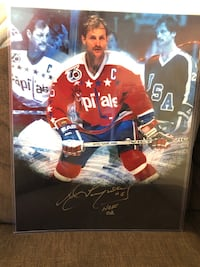 Rod Langway Autographed 16x20 Sterling, 20166
